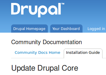 Upgrading to latest version within Drupal 6