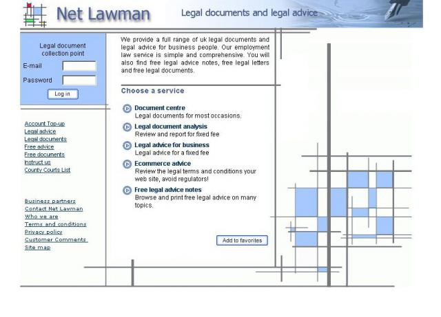 Legal Document Templates Pay & Download System, UK